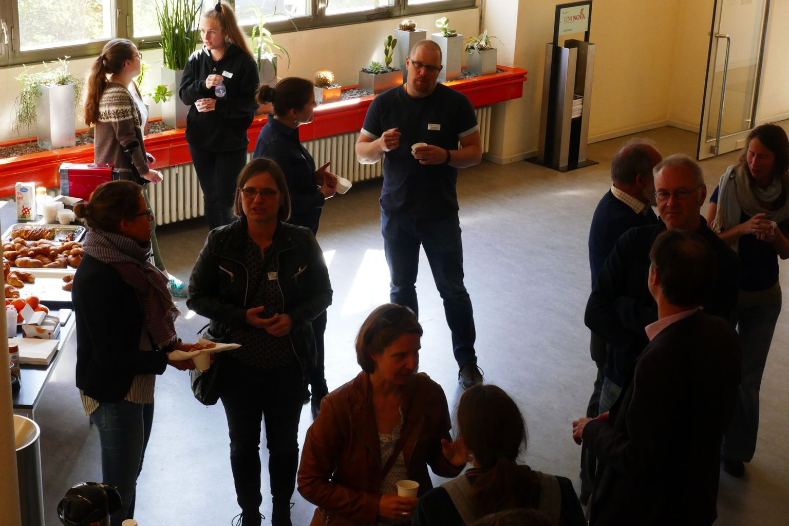 CH-QUAT Meeting 2019: coffee-break discussions