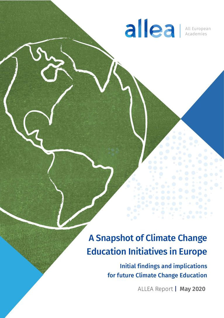 ALLEA (2020) A Snapshot of Climate Change Education Initiatives in Europe