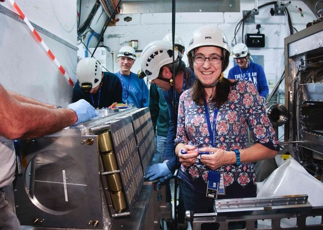 Paula Collins is working as a physicist for the LHCb experiment at CERN