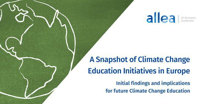 A Snapshot of Climate Change Education Initiatives in Europe