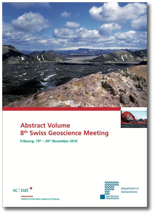 Abstract Volume SGM2010 Cover
