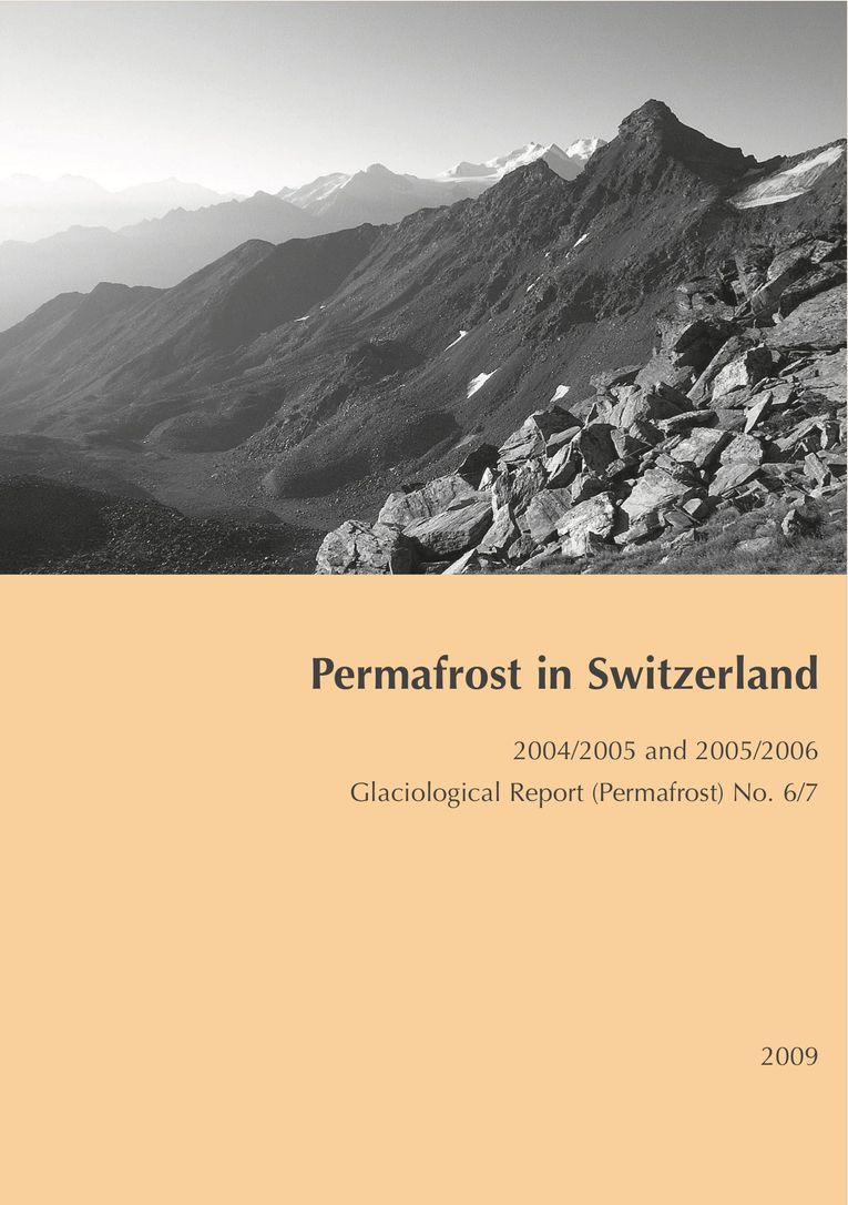 Permafrost in Switzerland 2004/2005 and 2005/2006