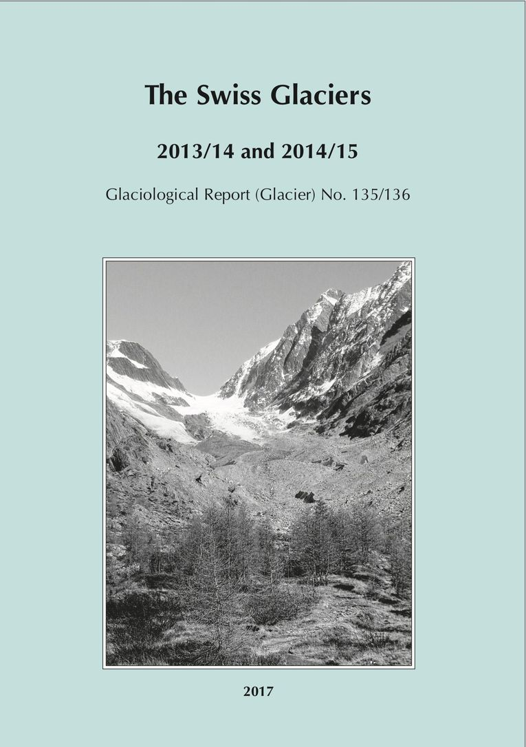 The Swiss Glaciers 2013/14 and 2014/15