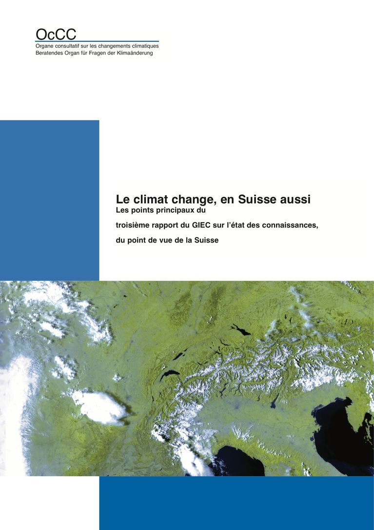 Climate change is a fact – also in Switzerland