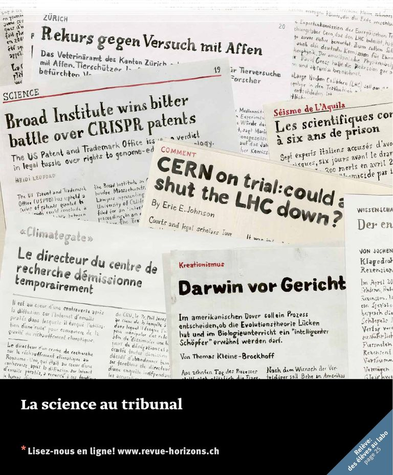 Horizons: La science au tribunal