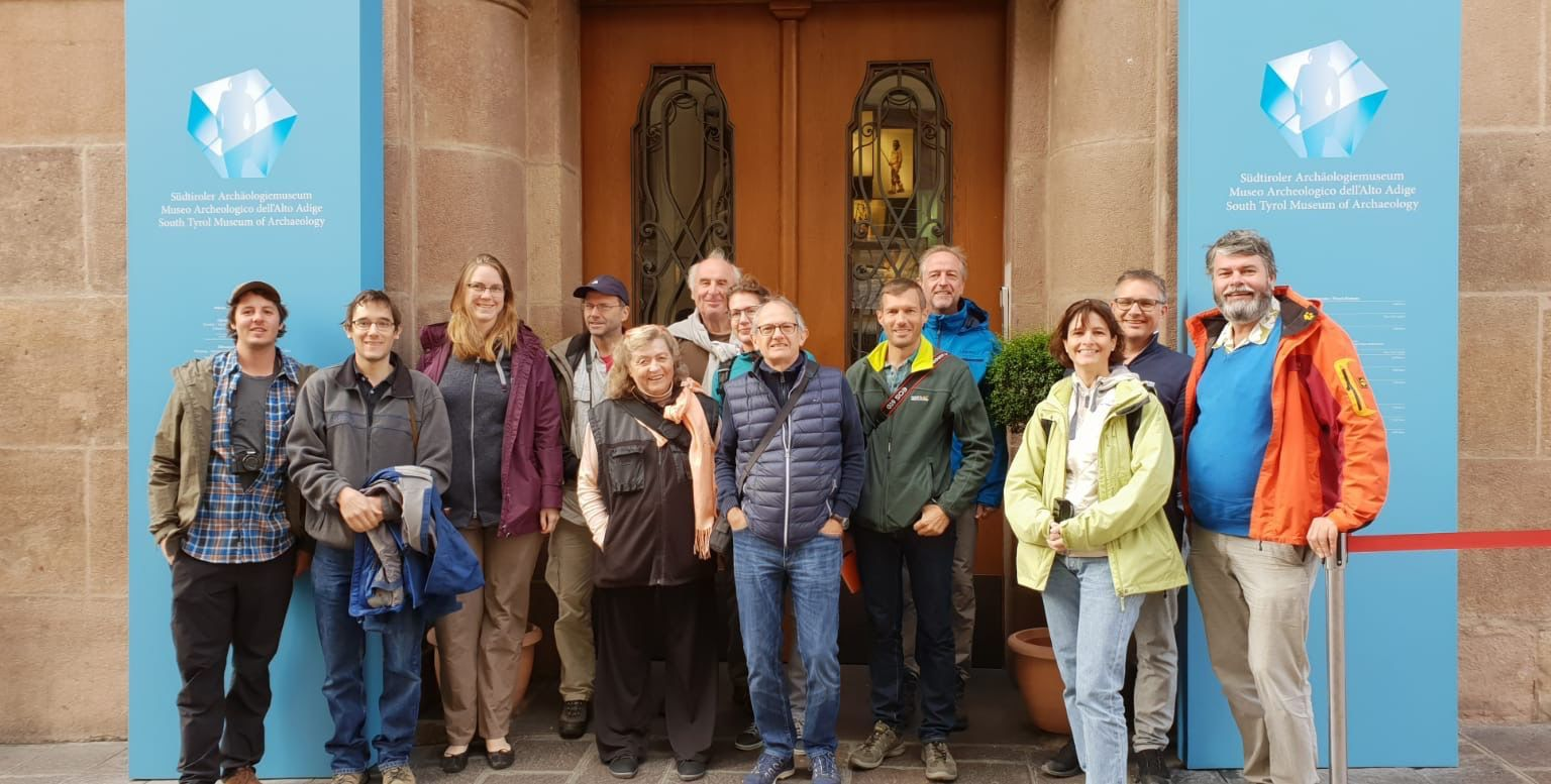 CH-QUAT Excursion 2018 – Group photo in front of the South Tyrol Museum of Archeology in Bozen