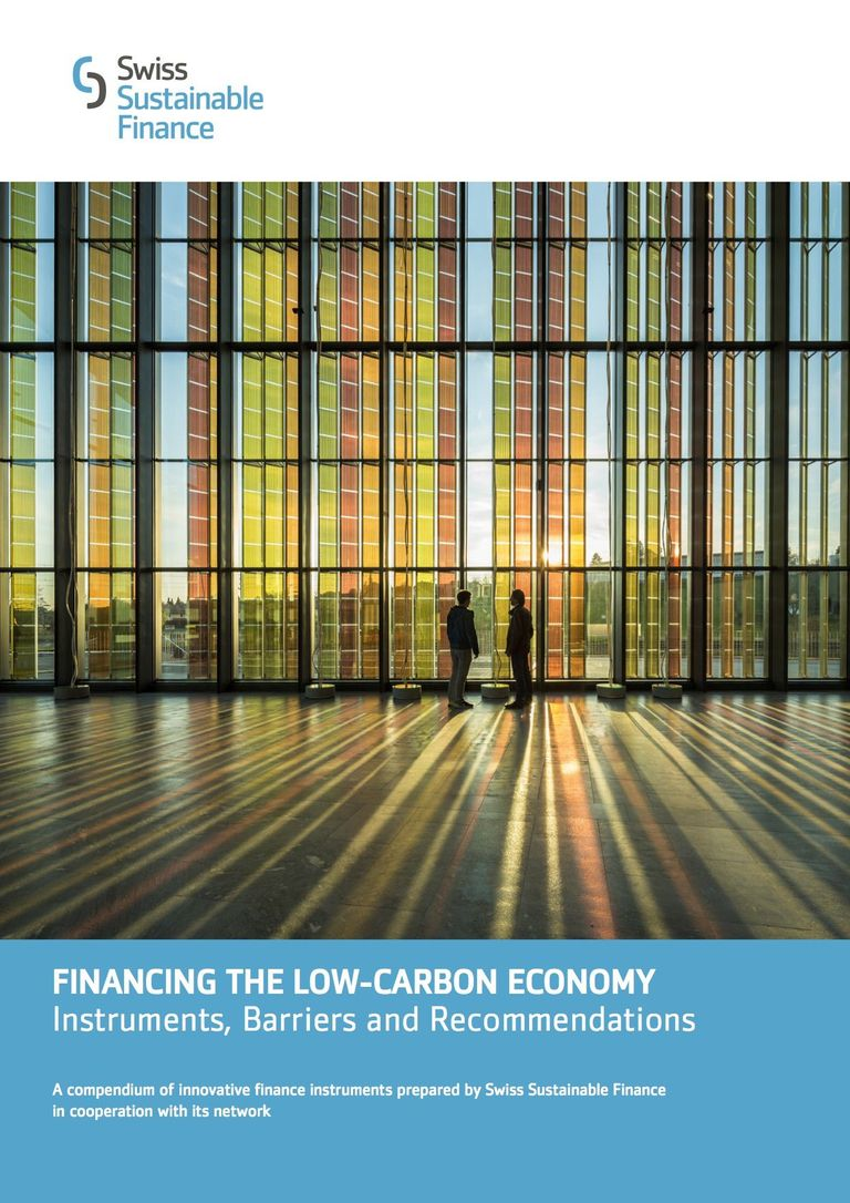 Cover Financing the Low-Carbon Economy