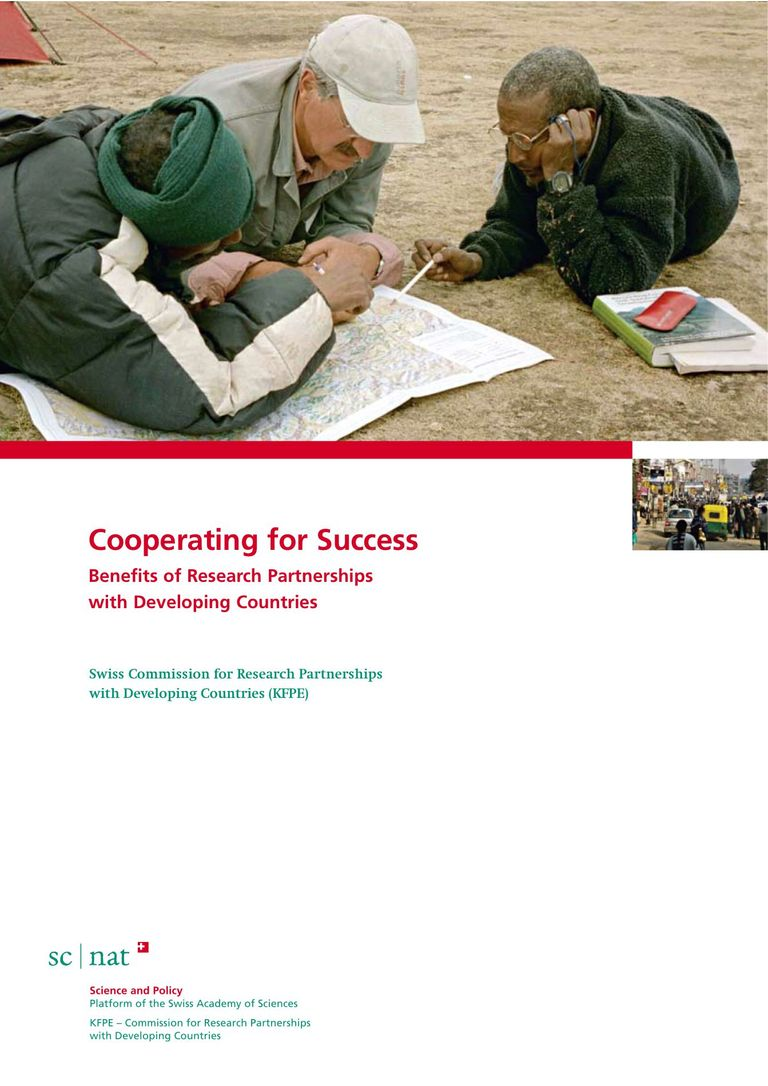 Cooperating for Success Benefits of Research Partnerships with Developing Countries