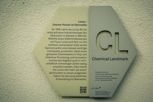 Chemical Landmark: Lonza