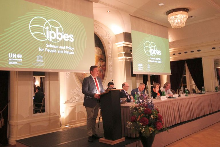 In June 2018 IPBES presented the summary for policymaker of its Assessment Report on Biodiversity and Ecosystem Services for Europe and Central Asia in Bern.