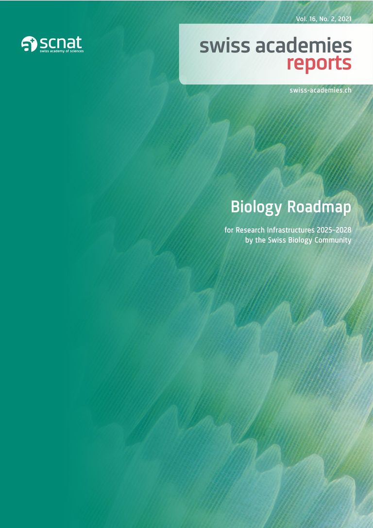 Biology Roadmap for Research Infrastructures 2025–2028 by the Swiss Biology Community