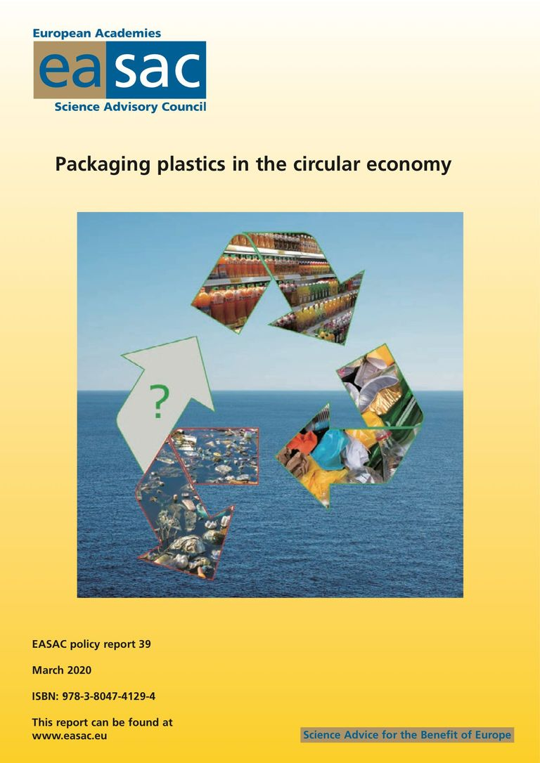 "EASAC Bericht ""Packaging plastics in the circular economy"""