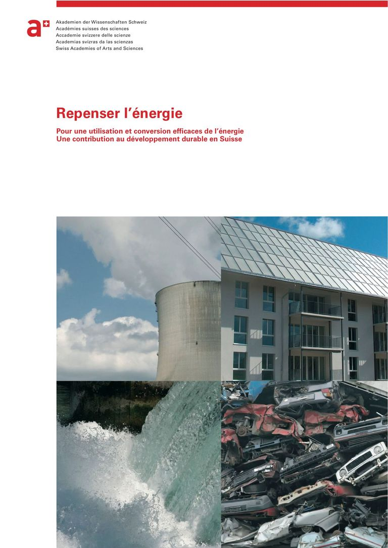 raport: Repenser l'énergie