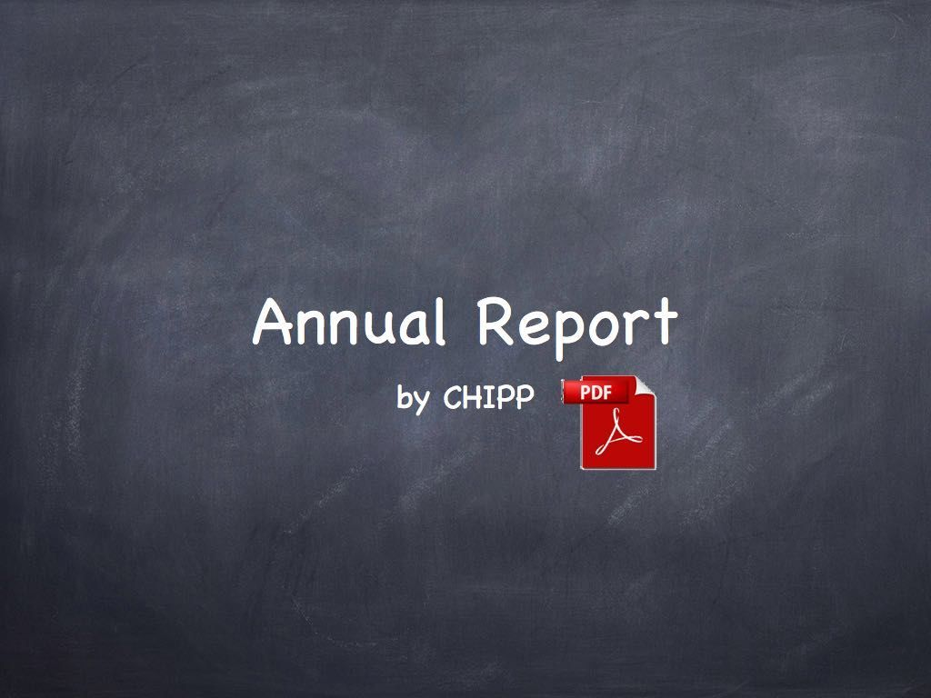 CHIPP Annual reports teaser