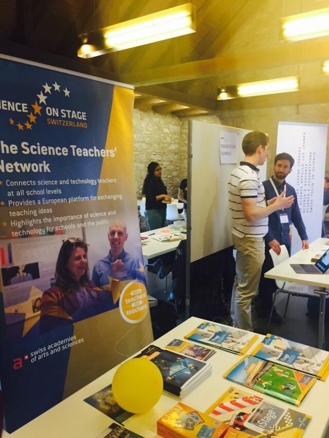 Stand Science on Stage Switzerland - LSS 2019