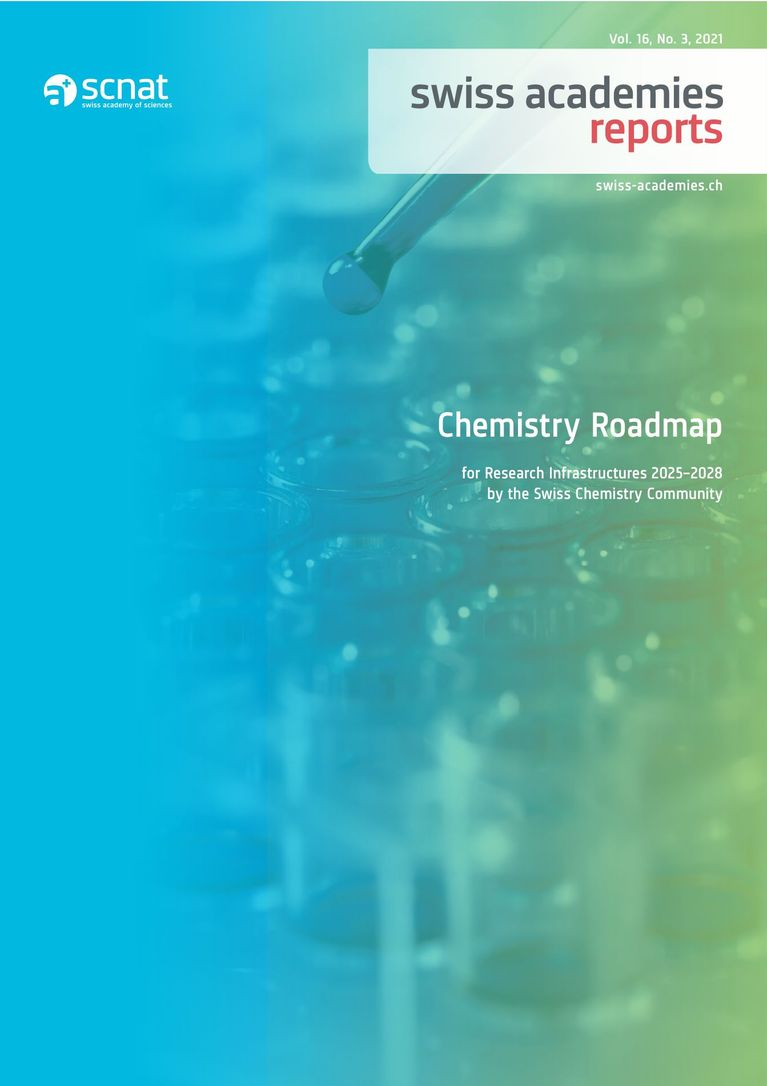 Chemistry Roadmap for Research Infrastructures 2025–2028 by the Swiss Chemistry Community
