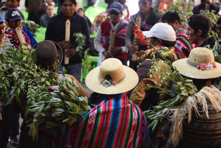 "Offering thanks to Pachamama: harvest festival in Colcha ""K"" community, Nor Lípez, Bolivia"