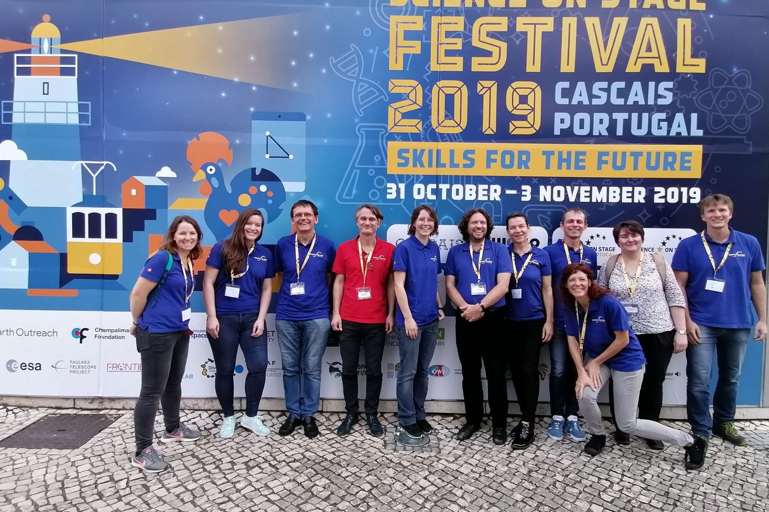 Festival Science on Stage – Cascais 2019