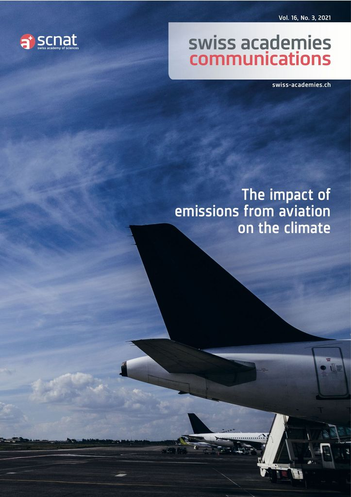 Neu U (2020) The impact of emissions from aviation on the climate. Swiss Academies Communications 15 (9).