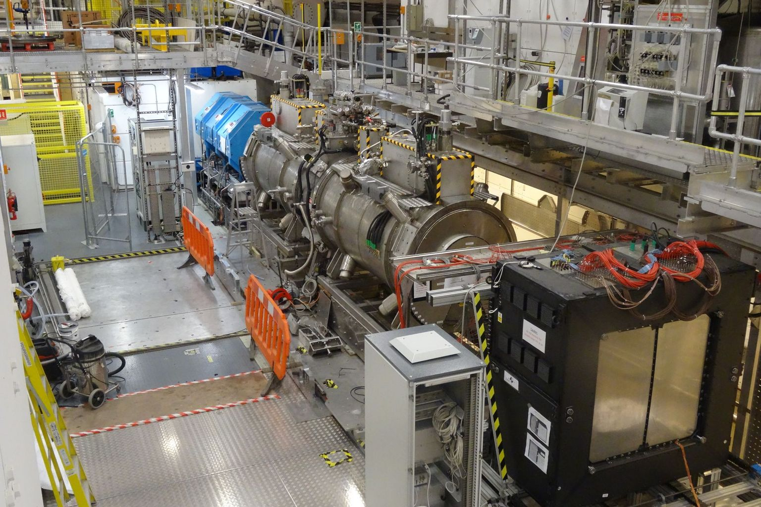 The Muon Ionization Cooling Experiment (MICE) was conducted at the Rutherford Appleton Laboratory in United Kingdom.