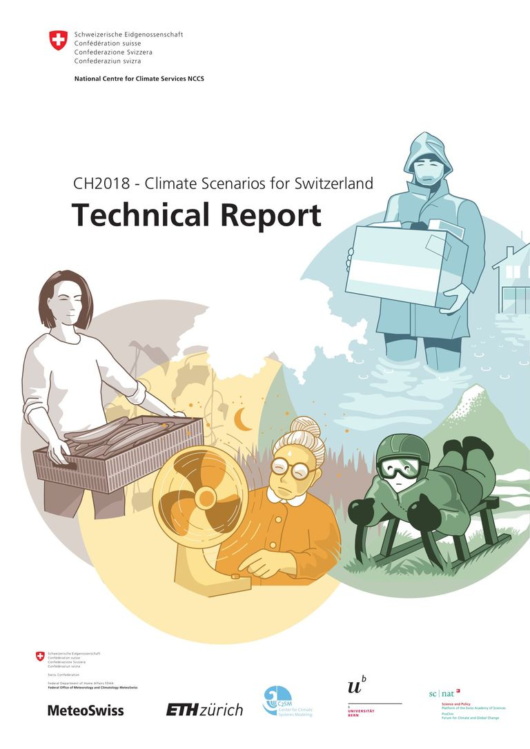CH2018 – Climate Scenarios for Switzerland: Technical Report