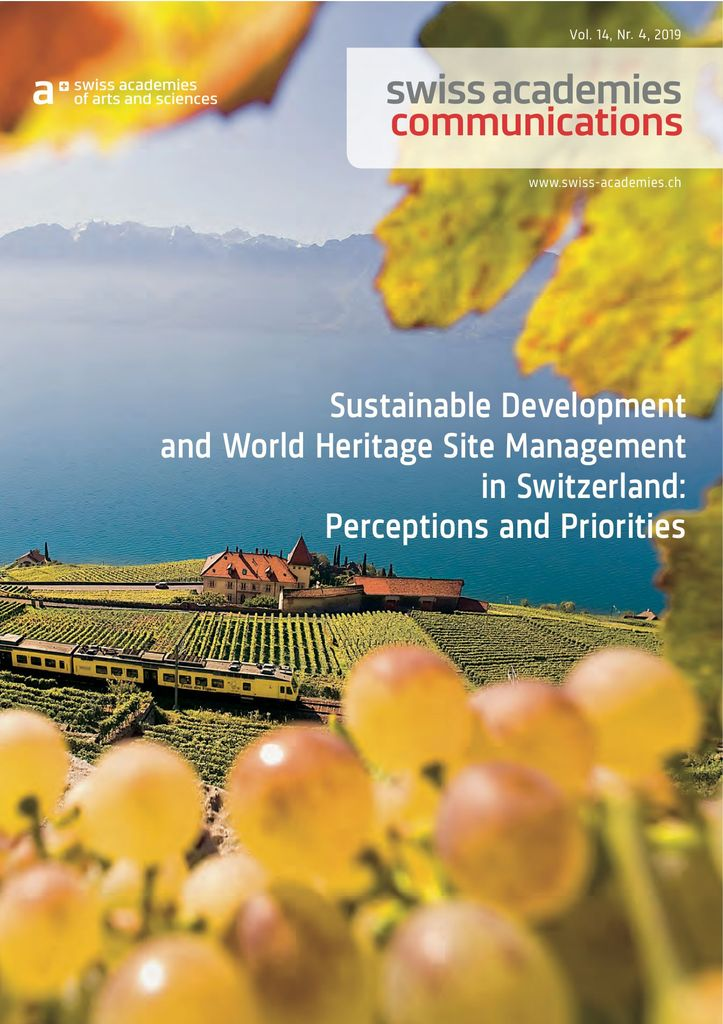 Sustainable Development and World Heritage Site Management in Switzerland