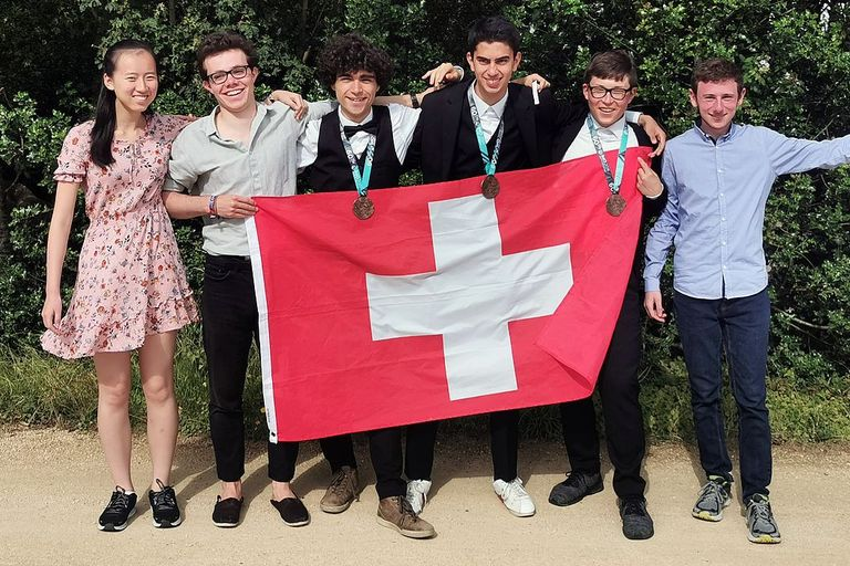 Swiss Team at the International Mathematics Olympiad 2019