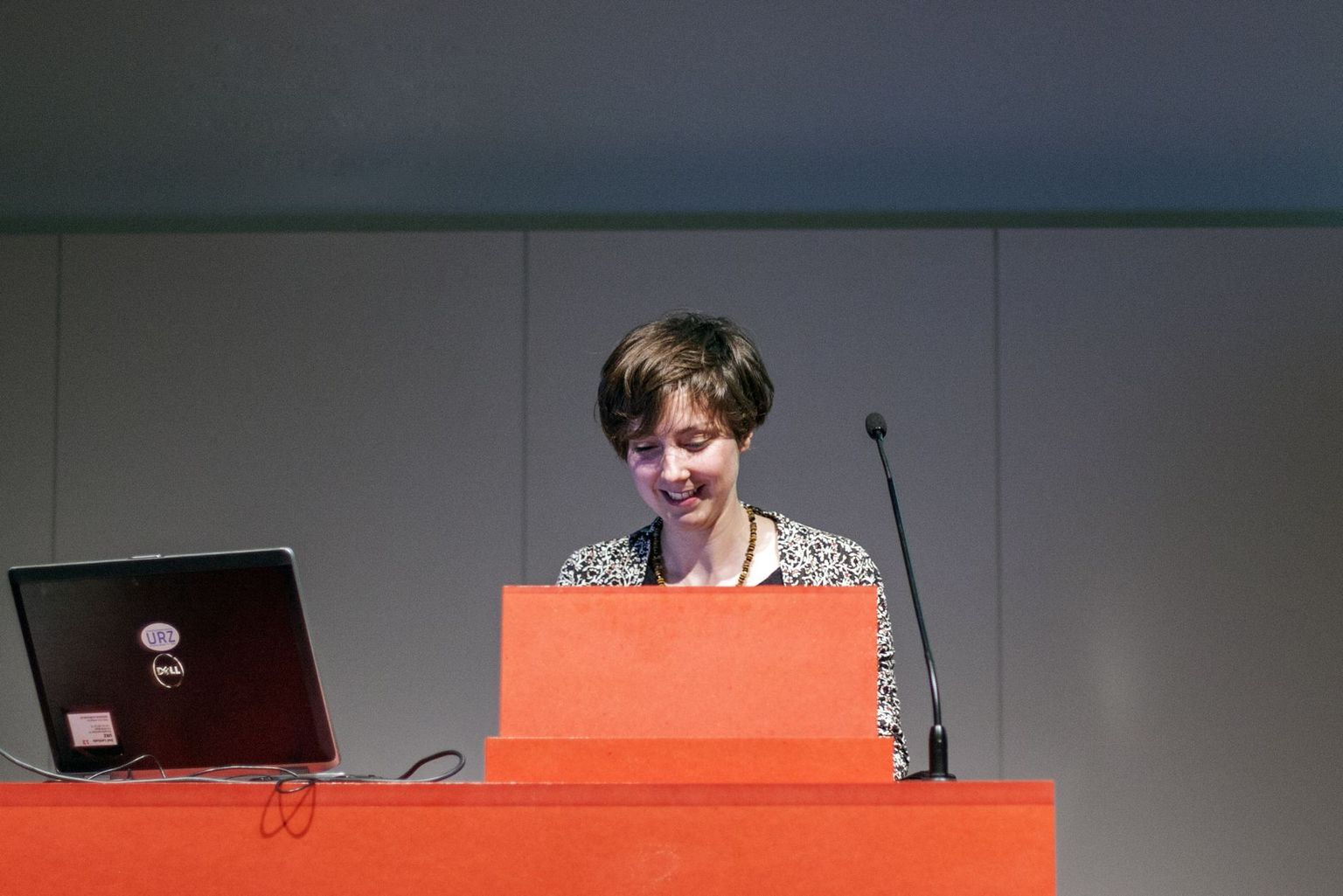Anna Rauch receives the Swiss Geological Society Award 2015 for best MSc thesis