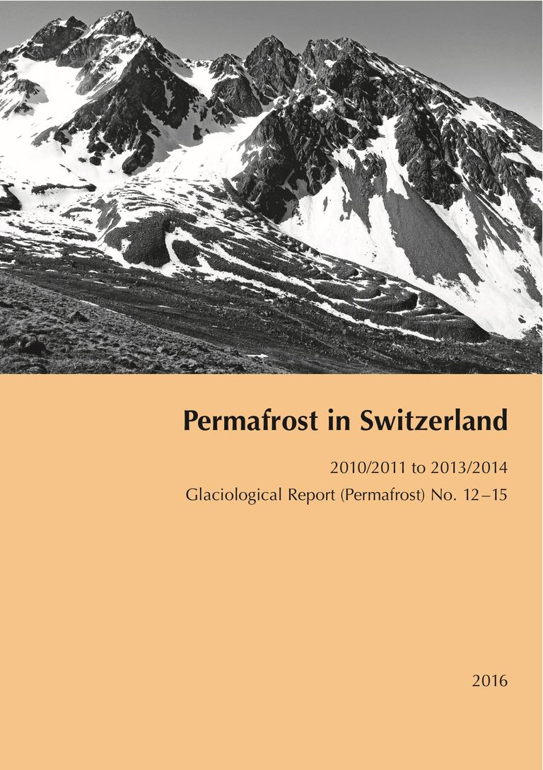 Permafrost in Switzerland 2010/2011 to 2013/2014