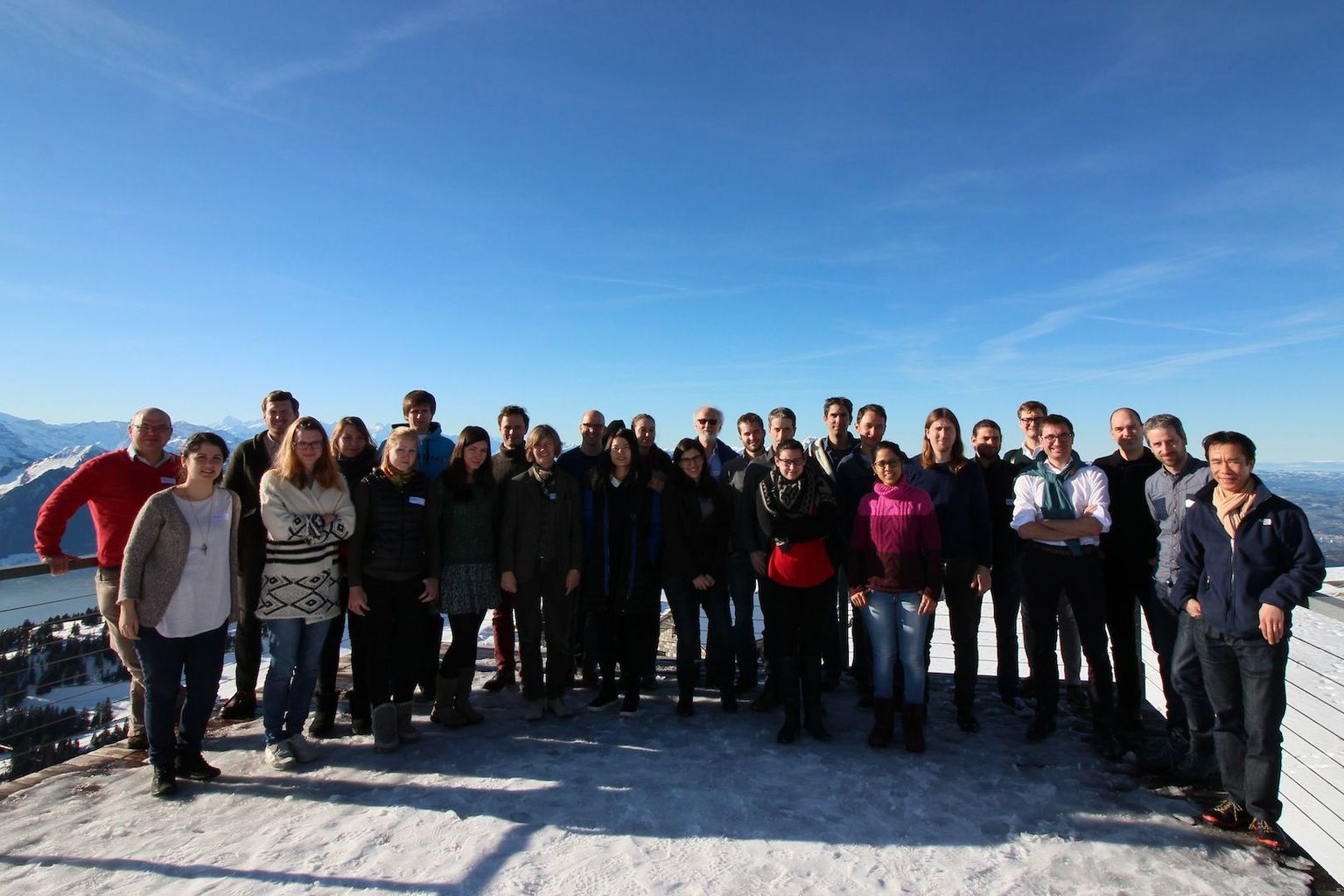 Rigi Workshop 2016 - Group picture