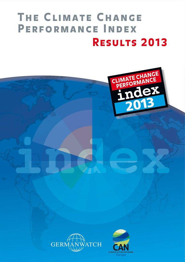Climate Change Performance Index 2013 (full version): Der Klimaschutz-Index 2013