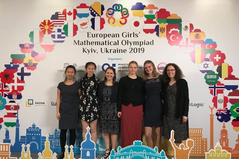 Swiss Team at the European Girls' Mathematical Olympiad 2019