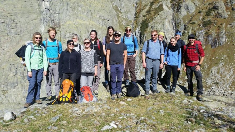 Young Geomorphologists 2015