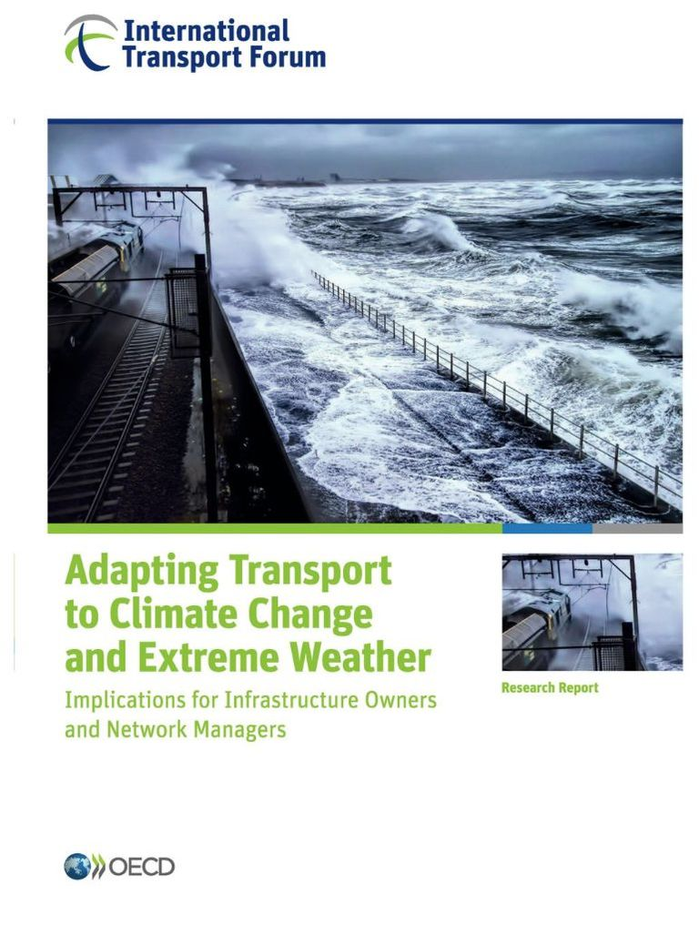 Adapting Transport to Climate Change and Extreme Weather