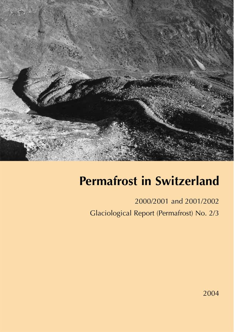 Permafrost in Switzerland 2000/2001 and 2001/2002