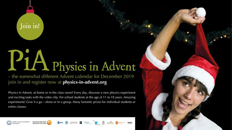 PiA Physics in Advent 2019