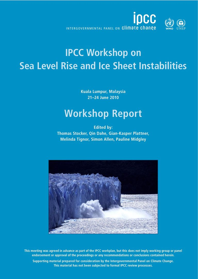 meeting report: Sea Level Rise and Ice Sheet Instabilities