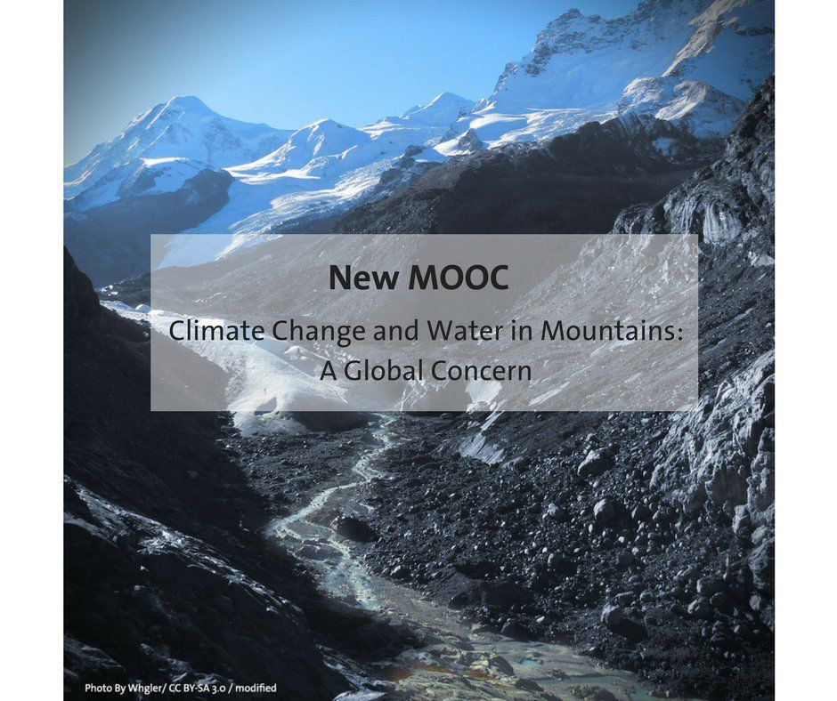 "Online Course ""Climate Change and Water in Mountain Regions: A Global Concern"""
