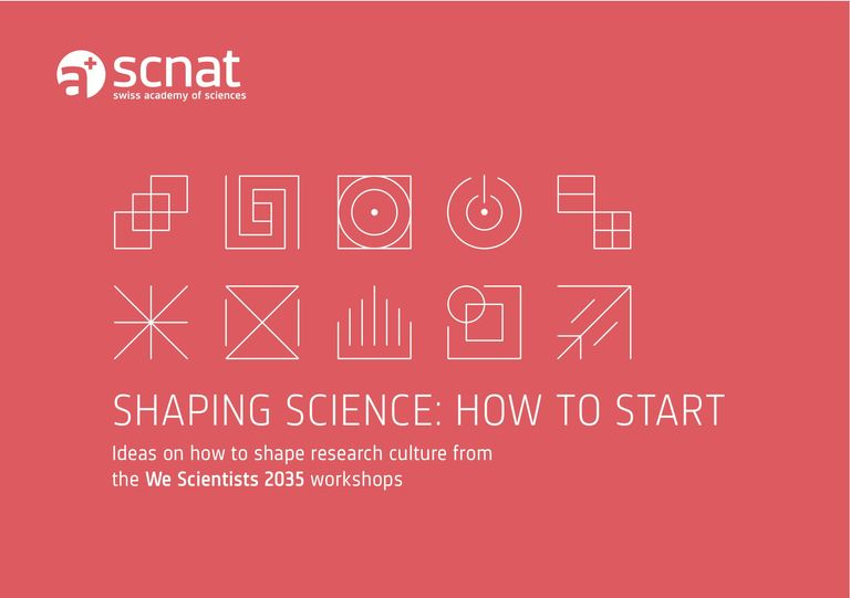 Shaping Science: how to start